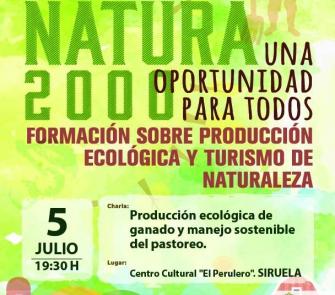 Siruela: producción ecológica de ganado y manejo sostenible del pastoreo