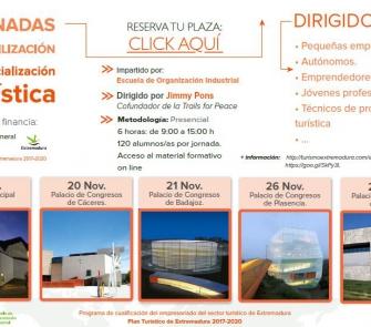 Jornadas de Sensibilización en Comercialización Turística y de Restauración