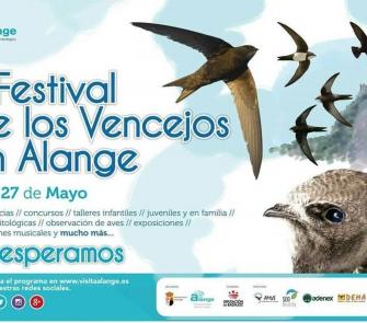 II Festival de los vencejos en Alange